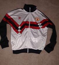 Adidas orignals manchester united soccer Jersey & Jacket mens large 2 piece set