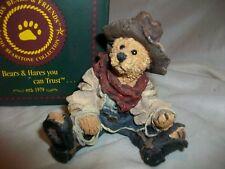 Boyds Bear Figurine Hop-A-Long The Deputy Style 2247 Cowboy