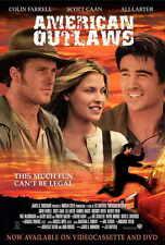 AMERICAN OUTLAWS Movie POSTER 27x40 Colin Farrell Gabriel Macht Scott Caan