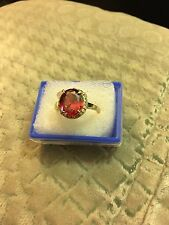 Lovely 14k GF Ruby  Ring, size 20