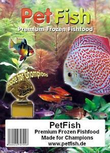 3 kg 6 X 500g Artemia + Rote u. Weiße Mückenlarven +Vitamine Frostfutter
