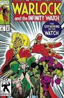Warlock And The Infinity Watch Comic Issue 2 Modern Age First Print 1992 Starlin