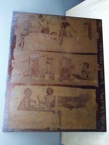 "Rare Vntg 1950's VANDERCOOK Copper Advertising Printer's Proof Plate 16""x 19"""