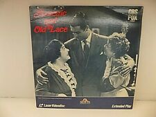 ARSENIC AND OLD LACE  Laserdisc LD VERY GOOD CONDITION