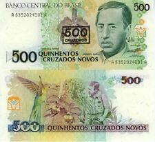Billets de l'Amérique du Sud, de Brésil