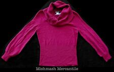 NWT Patagonia W's Women LARGE Lambswool Cowl Sweater Magenta Raspberry 51350