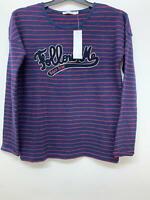 NEW RRP £52.00 Monoprix Striped T-shirt                                    (U25)