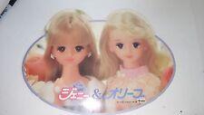 Takara Jenny 1988 Vintage Doll Store Display Sign Japan