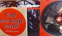 Roland Kaiser- Heute und hier (mit Aufkleber!) WIE NEU- lesen