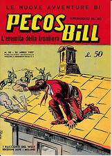 Pecos Bill n°20 albi a colori edizione Mercury