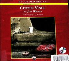 BOOK/AUDIOBOOK CD Jess Walter Fiction Novel CITIZEN VINCE