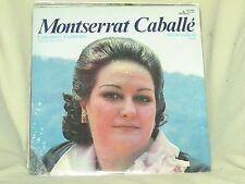 Montserrat Caballe Canciones Espanolas 1977 Alhambra SCE 981 OPERA LP No Cutouts