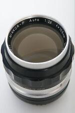 Nikon Nikkor-P 10.5cm f2.5 Telephoto Lens Non-AI Mount 105mm