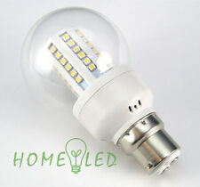 B22 Bayonet Warm White 3W 60 SMD LED BULB Gloobe Ball Lamp Light ENERGY SAVING