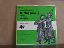 KING AND I, VARSITY SINGERS - CONCERTONE LP 20197