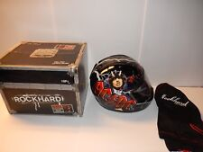 NEW RockHard AC/DC Full Face Motorcycle Helmet Highway To Hell Rock n Roll  (XS)
