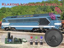 Module Son 'Klaxon Loco Diesel'
