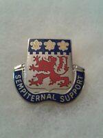 Authentic US Army 230th Supply & Transport Battalion DI DUI Crest Insignia D22