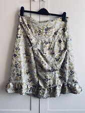 BNWoT Silk Skirt By Rutzou Sz 40 UK 12 To 14, Cool Danish Designer!