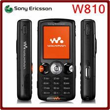 Unlocked Brand Sony Ericsson W810i Radio GSM Music Cellphone Black Free Shipping