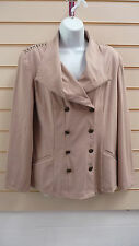 Ladies Jacket Beige Size 16 Together Blazer Formal (a002