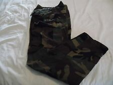 USMC Woodland Camouflage Pants Size Small Regular