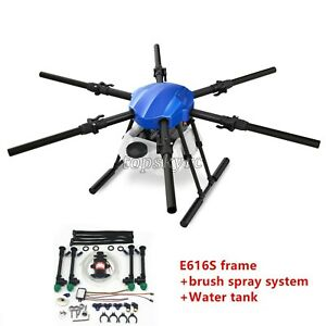 EFT E616S 16L Agricultural Drone Spraying Folding Frame Kit w/ Brush Sprying tps