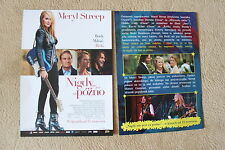 Ricki and the Flash (2015) Meryl Streep - Polish promo FLYER