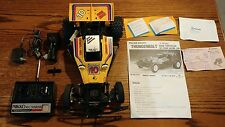 1/10 VINTAGE RC THUNDERBOLT OFF-ROAD Tested NIKKO W/BOX Yellow WORKS GREAT