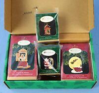 Hallmark Keepsake 1997 Ornament Collector's Club 4 Piece Set in Original Box NOS