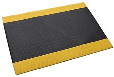 Ribbed Anti Slip Anti Fatigue Air Cushioned Vinyl Standing Safety Mat 89 x 63cm