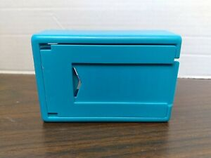 1989 TABOO Game Replacement Pieces Parts Teal CARD HOLDER