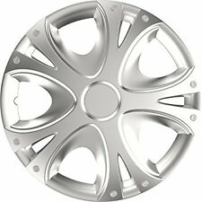"15"" Dynamic Universal Wheel Trims Hub Caps Set Of 4 For All Makes & Models"