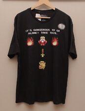 The Legend of Zelda Its Dangerous To Go Alone Sword Nintendo T Shirt XL NWT