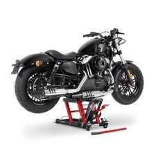 Motorrad Hydraulik Hebebühne für Custom Bikes Constands Mid-Lift L rot-schwarz