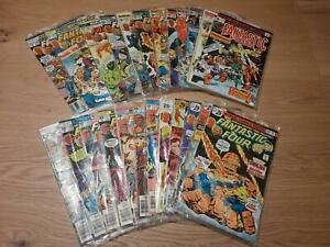 Fantastic Four Vol. 1 :  157 - 180 (1961), average  FN/VFN, US Originale