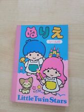 Vintage Sanrio Little Twin Stars mini colouring book Comes with Stickers