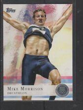 MIKE MORRISON - 2012 OLYMPICS DECATHLON - SILVER MEDAL -  TOPPS #63