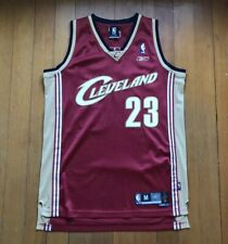 Lebron James Reebok Authentic 2004 Rookie Stitched Jersey Medium +2 Length