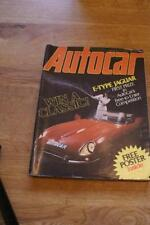 March Autocar Weekly Cars, 1970s Magazines