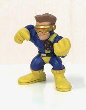 Marvel Super Hero Squad CYCLOPS Variant Gold Visor Black X-Men Emblem a