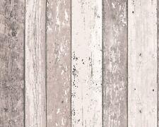 Vliestapete Holz-Optik Planken Holzbrett braun AS Creation 8550-53 (2,41€/1qm)