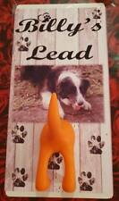 Dog Lead Hanger  Personalised with name & photo - Unique Novelty Gift- Metal