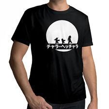 Anime Master Roshi Goku Krillin Unisex Crew Neck Cotton T-Shirt SIZE XL