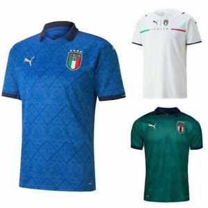 2021 T-shirt Italia Scudetto Tricolore Bandiera Italiana Maglia Europeo Mondiale