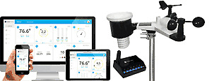 Ambient Weather WS-1550-IP Smart Wireless Weather Station with Remote Monitoring