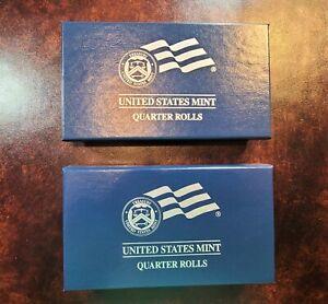 2010 P&D America the Beautiful Quarters Rolls U.S.MINT WRAPPED Set of 10 ROLLS