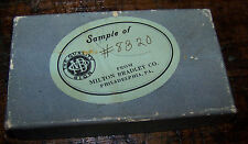 VINTAGE MILTON BRADLEY SAMPLE TOY PROTOTYPE BOX CARTON #8320