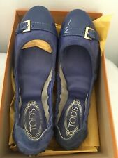 Tod's Ball Dee Buckle Loafers Shoes Size UK 5.5, 38.5  - Boxed