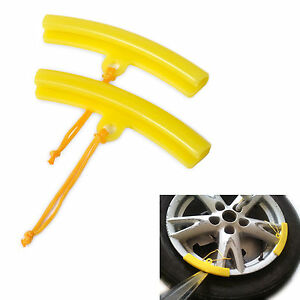 Motorcycle Strong Wear Soft Plastic Wheel Rim Protector Tyre Changing Edge Saver